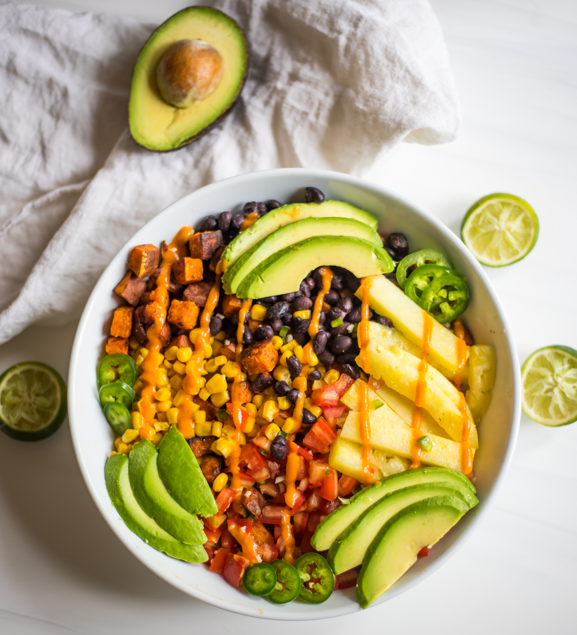 Sweet Potato Burrito Bowl (V, GF)